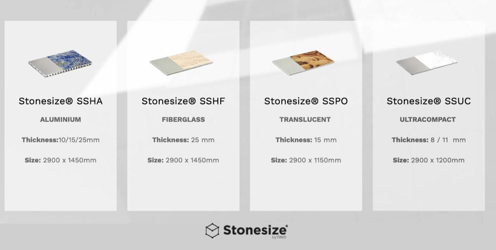 Web Stonesize by TINO® - Products