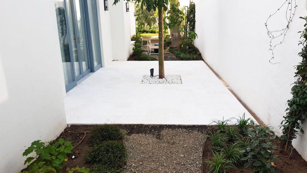 Limpieza del mármol después de una obra o reforma - Cleaning of the marble after construction or refurbishment