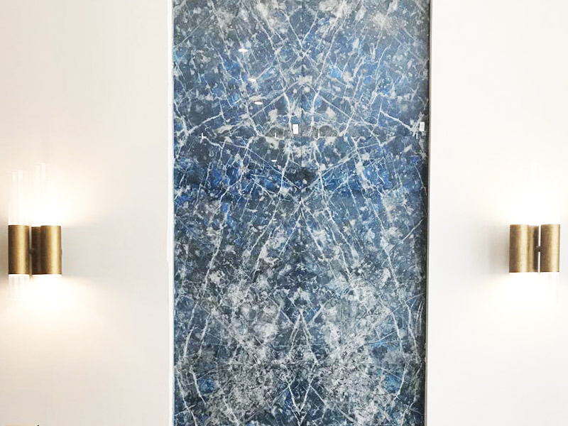 Panel Sodalita Azul - Santa María Court - Blue Sodalite panel