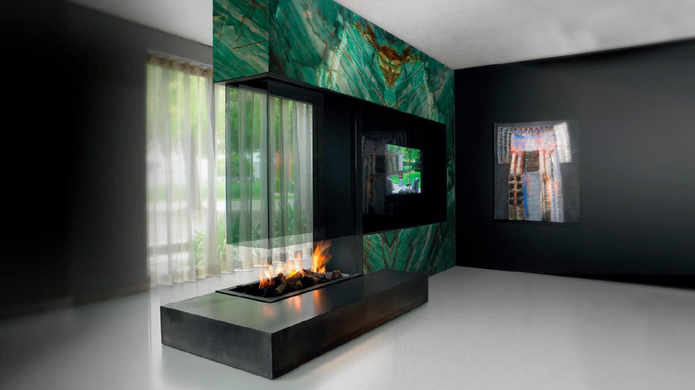 Chimenea - Botanic Green - Fireplace