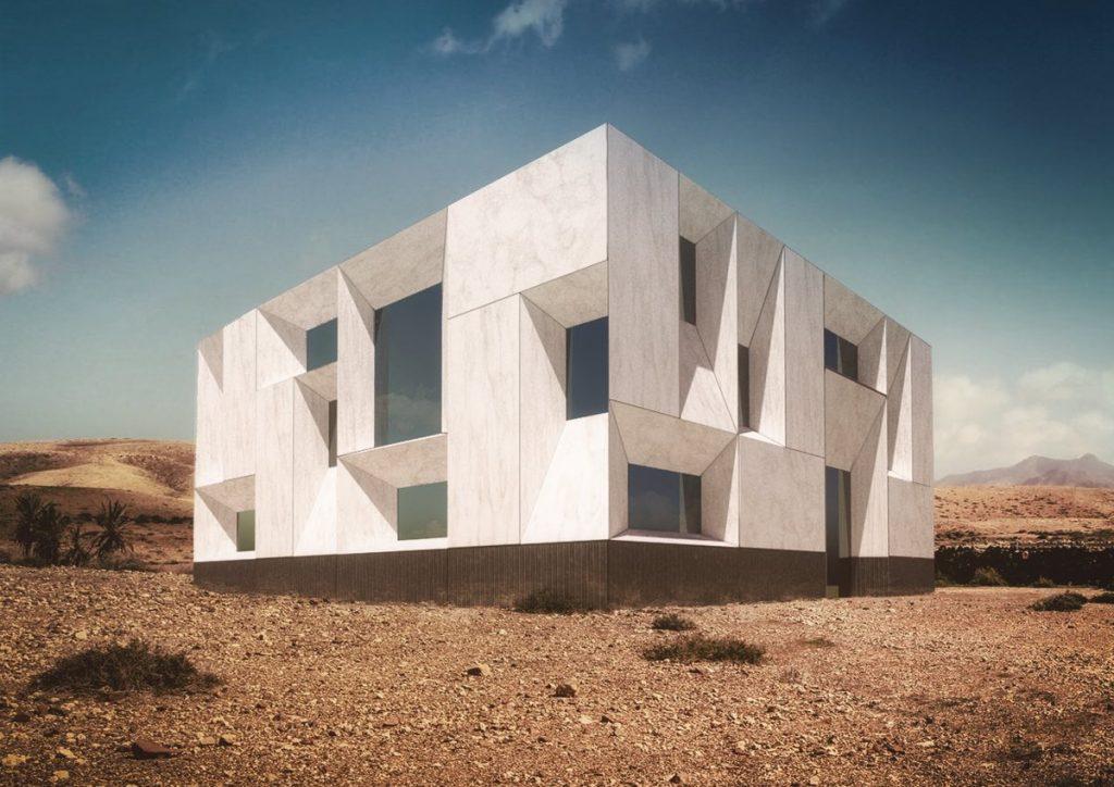 Servicio de infografía - Ingeniería de piedra para fachadas