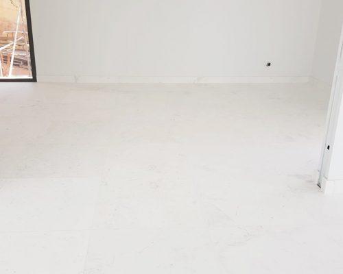 Cleaning of marble after construction or refurbishment - Limpieza de mármol después de una obra o reforma