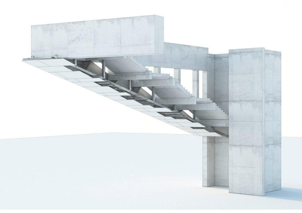 Subestrutcura y anclajes - Ingeniería de piedra para fachadas