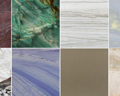 Tipos de cuarcita para interiorismo y arquitectura - Quartzite types for architecture and interior design