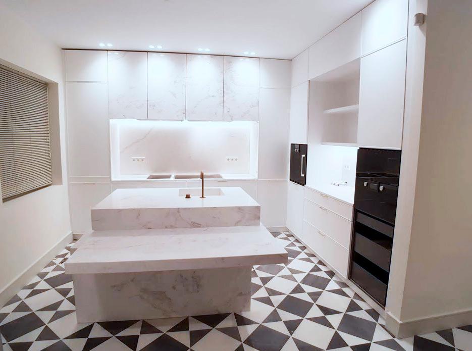 Muebles de cocina de mármol y piedra natural - Marble and natural stone kitchen furniture