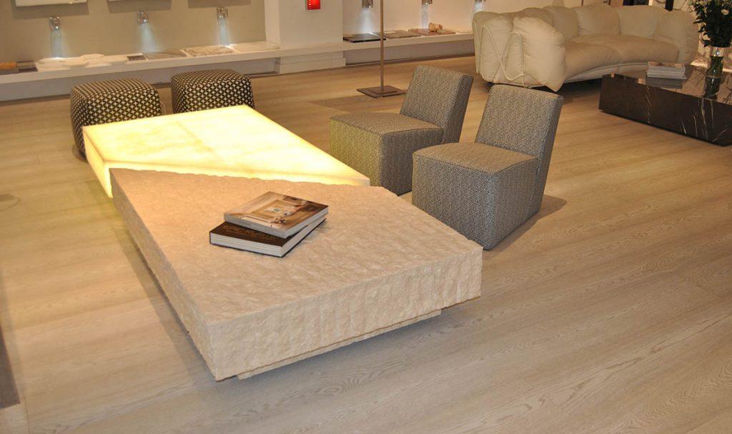 Muebles de mármol y piedra natural retroiluminados - backlit Marble and natural stone furniture