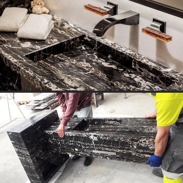 Muebles de mármol y piedra natural - Marble and natural stone furniture