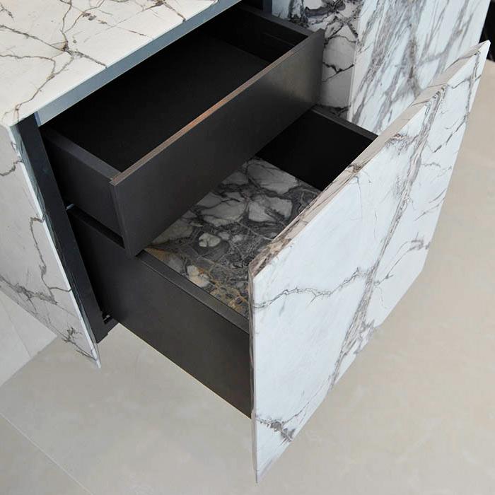 cajones y puertas de mármol y piedra natural - Marble and natural stone doors and drawers