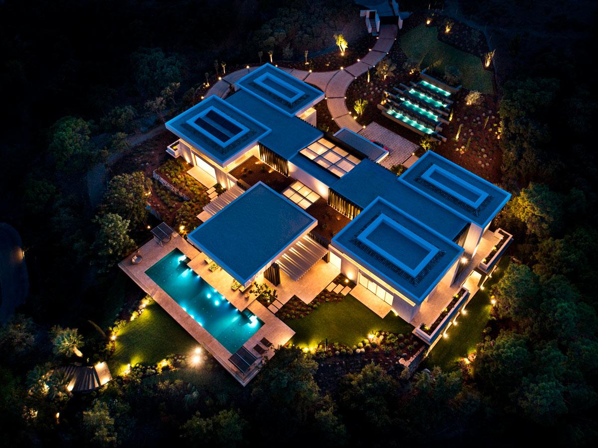 Night - Villa Cullinan - Noche