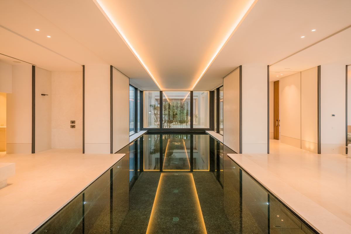 Piscina interior - Villa Cullinan - Indoor swimming pool