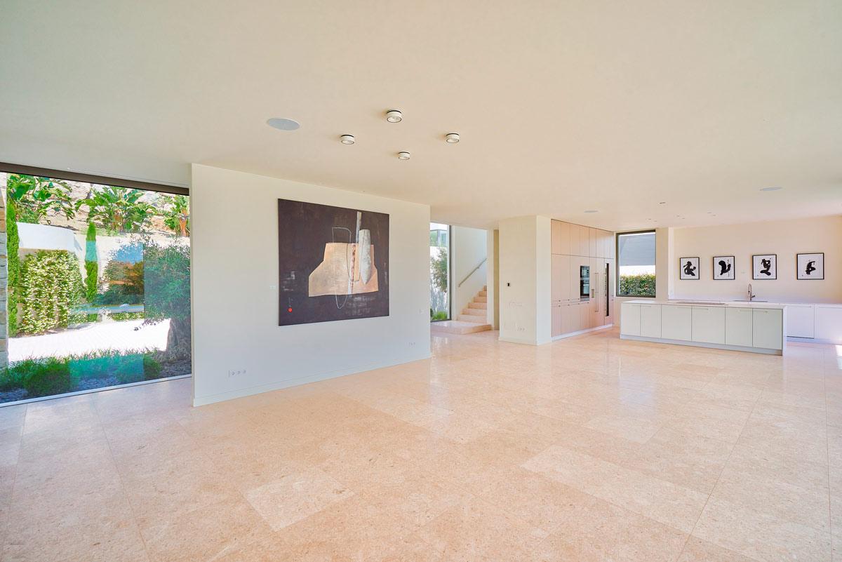 Suelo de travertino - Villa IX - Travertine flooring